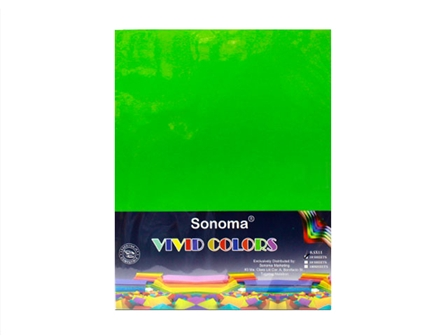 Sonoma Vivid Colors Colored Paper 10s Letter Green