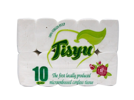 Tisyu Tissue Coreless Comp 10'Rol