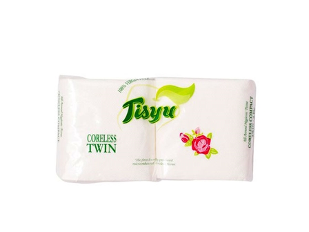 Tisyu Tissue Coreless Comp Twin 2rolls