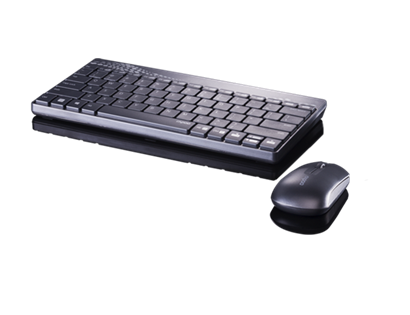 Rapoo Keyboard & Mouse 8000 Blk