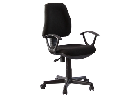 Task Chair HCM-1005H-F Black