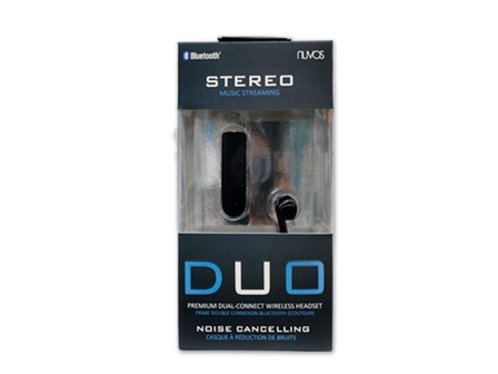 Nuvos Headset Bluetooth SBT-228 Black