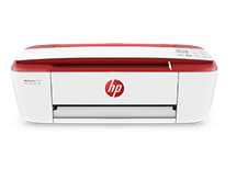 HP Printer 3777 IMF Red