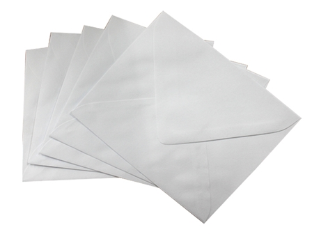 Exceline Baronial Envelope #4 White 10/pack
