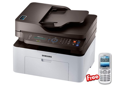 Samsung Printer SL-M2070FW NFC with FREE Phone