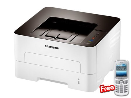 Samsung Printer SL-M2825ND with FREE Phone