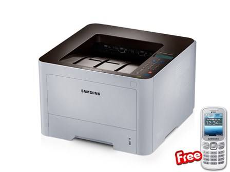 Samsung Printer SL-M3820ND with FREE phone