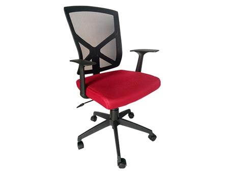 Task Chair 88698B Mesh Red