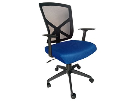 Task Chair 88698B Mesh Blue