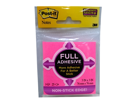 3M POST IT FULL ADHESIVE F330PK  STICKY NOTES