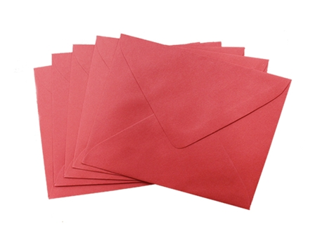 SONOMA BARONIAL ENVELOPE #5 10/PCK RED