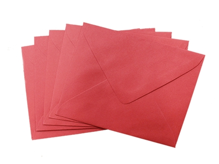 SONOMA BARONIAL ENVELOPE #6 10/PCK RED