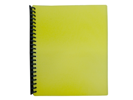 JODRIC CLEARBOOK REFILLABLE RB2320 A4 YEL