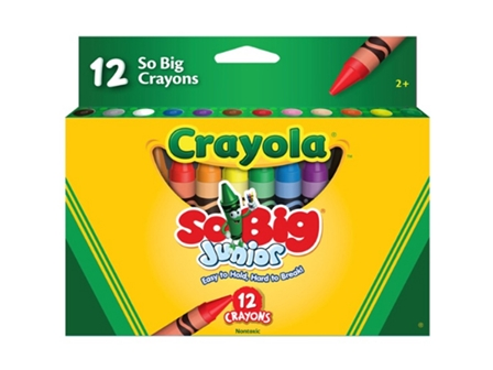 CRAYOLA CRAYON BIG JUNIOR 12COL