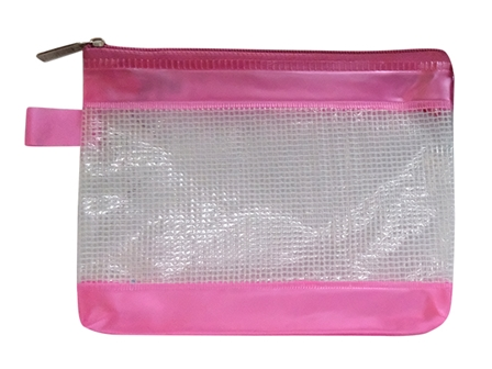 Axis Envelope Plastic AX044 Transparent  w/Zipper 8 x 6