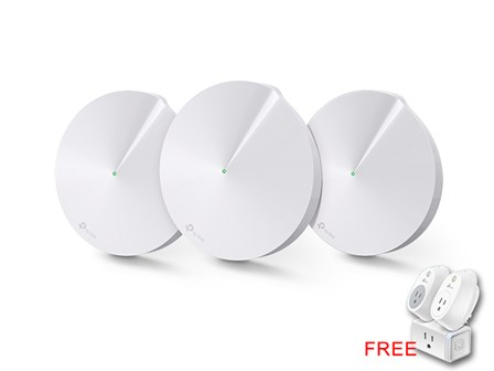 TP Link Router Deco M5 with FREE HS100