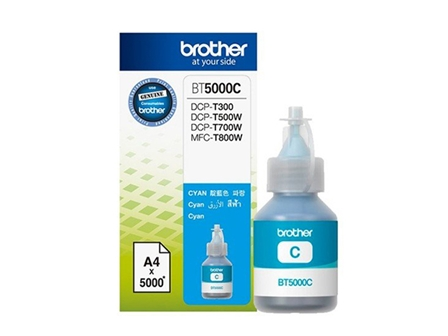 Brother Ink Bottle BT5000 Cyan