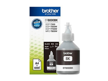Brother Ink Bottle BT6000 Black