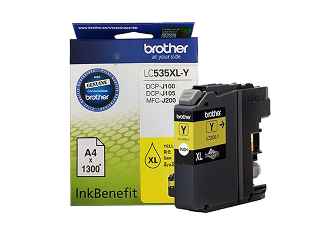 Brother Ink Cartridge LC-535XL Yellow