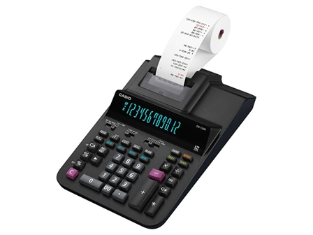 Casio Printing Calculator DR-120R Black