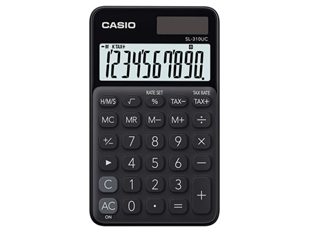 Casio Handheld Calculator SL-310UC Black