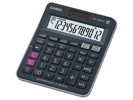 Casio Calculator Standard MJ-120D