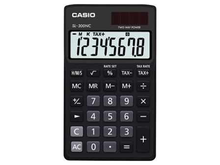 Casio Calculator SL-300NC Black