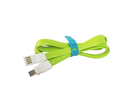 Nuvos Cable Micro USB Data Green