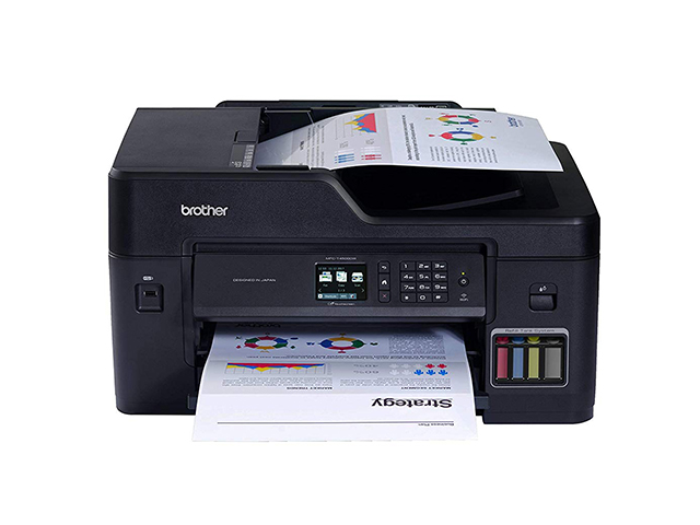 Brother Printer MFC-T4500DW Refill Ink Tank Wireless Duplex All-in-One