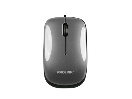 Prolink Retractable Mouse PMR3001 Gray
