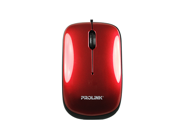 Prolink Retractable Mouse PMR3001 Red
