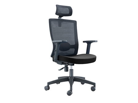 Executive Chair HT-7039AX Mesh High Back Black