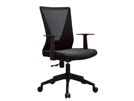Managerial Chair HT-7068BEX Mesh Low Back Black