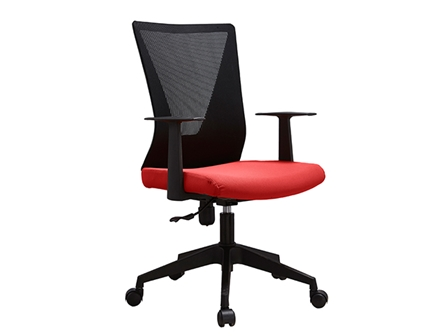 Managerial Chair HT-7068BEX Mesh Low Back Red