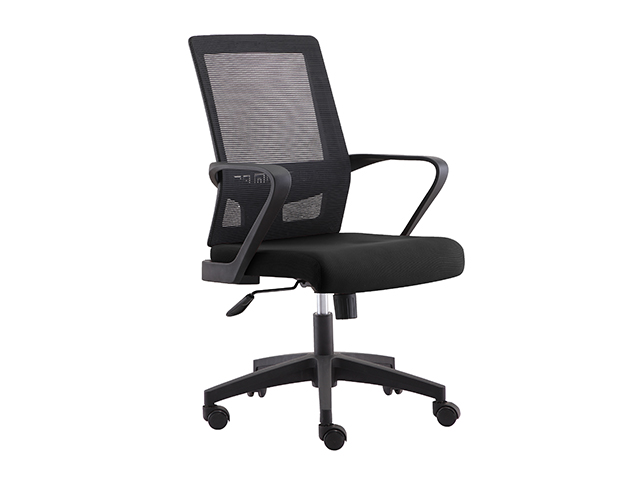 Managerial Chair HT-7081B Mesh Back Black