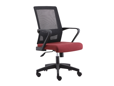 Managerial Chair HT-7081B Mesh Back Red