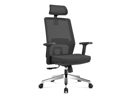 Executive Chair 820A3E Mesh with Head Rest Black