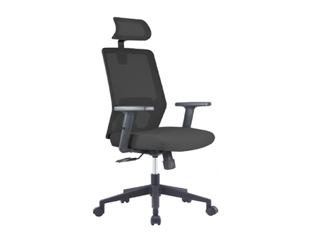 Executive Chair T820N3E Mesh with Head Rest Black