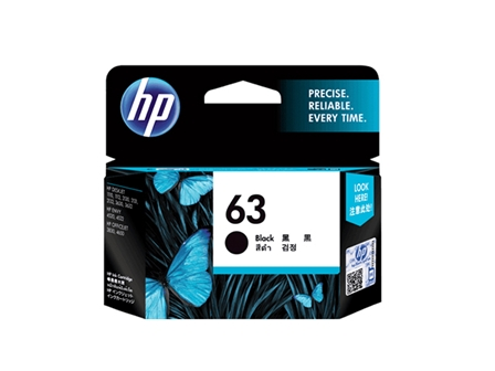 HP 63 Ink Cartridge F6U62AA Black