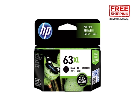 HP 63XL Ink Cartridge F6U64AA Black FS