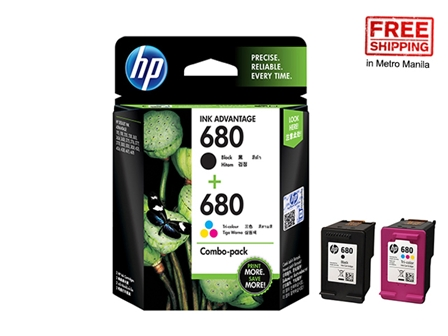 HP 680 Ink Cartridge X4E78AA Black / Colored 2S FS