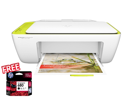 HP Printer Deskjet 2135 with FREE INK - OPT A