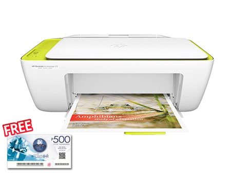 HP Printer Deskjet 2135 with FREE SM Gift Check worth 500 - OPT C