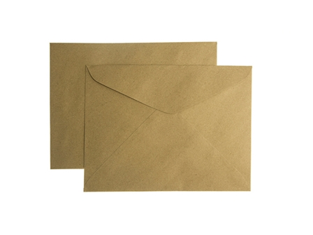 Document Envelope 150LBS Brown Letter/10 pack