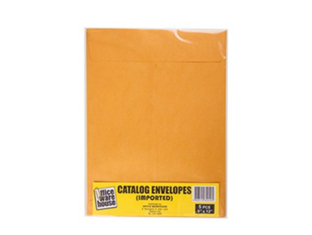 Exceline Envelope 150LB 5's Golden Kraft  9 x 12