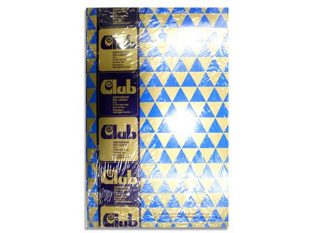 Club Carbon Paper Film 100/pack Blue Letter