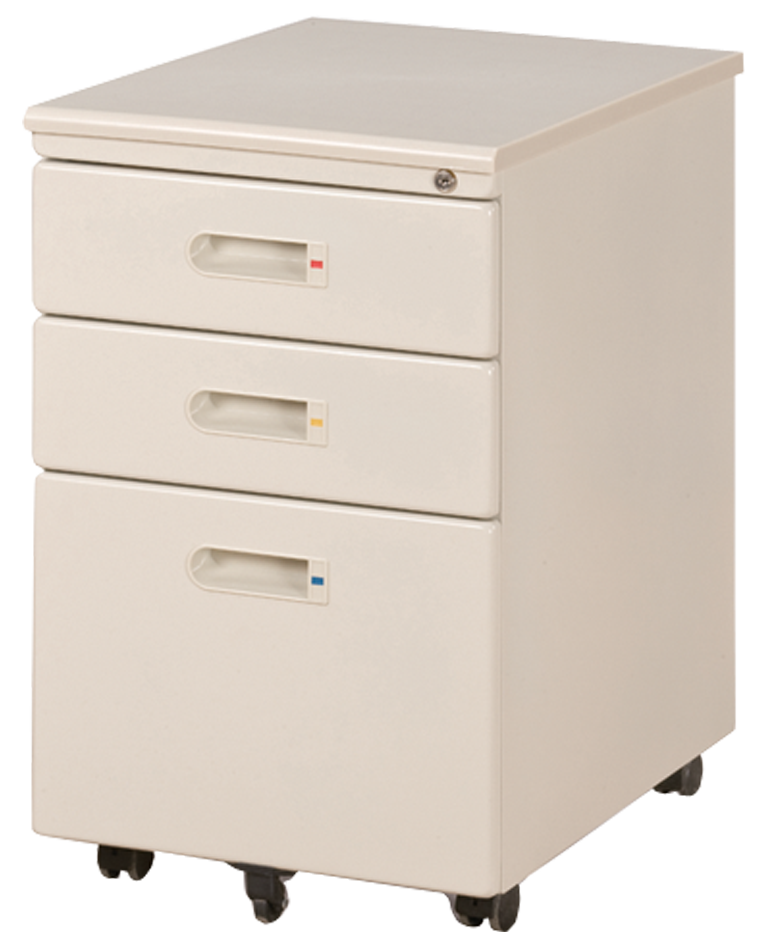 Mobile Pedestal 3-Drawer NA-FM001-05 Gray