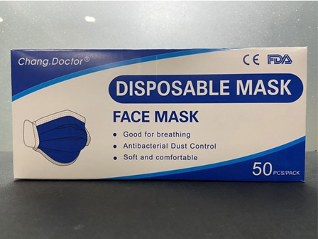 Doctor Chang Face Mask 3Ply 50's