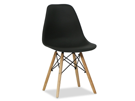 Designer Chair S-611 Black