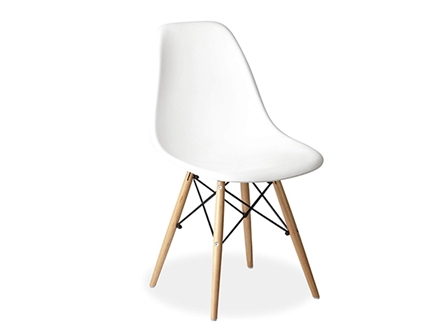 Designer Chair S-611 White